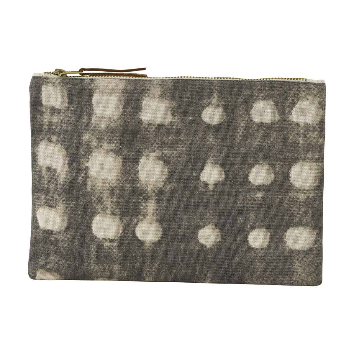 Make-Up-Tasche, Grau| 23×16