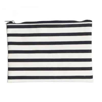 Make-up Tasche, Stripes | 21x15 cm