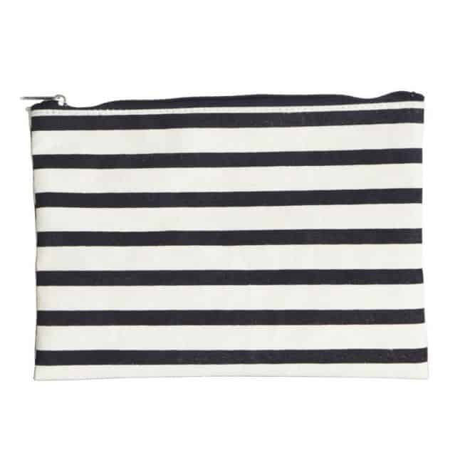 Make-up Tasche, Stripes | 21×15 cm