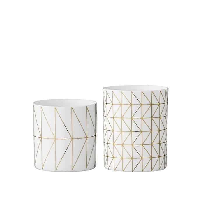 Teelichtglas_Muster_Bloomingville